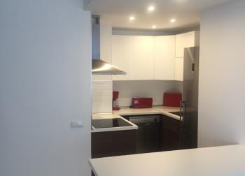 renovated kitchen new design lights marbella homes
