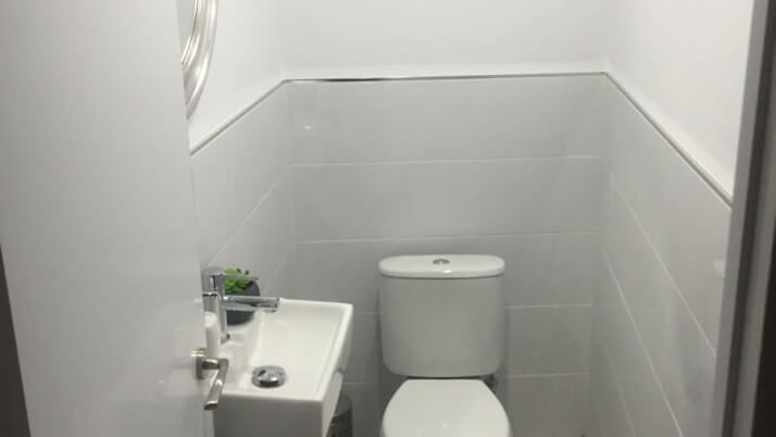 small toilet remodeled marbella homes design