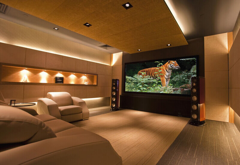 home cinema services audio visual entertainment